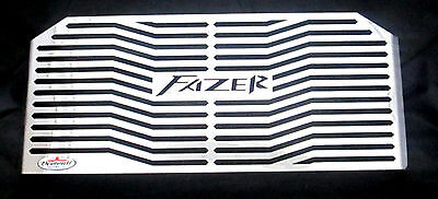 <em>YAMAHA</em> FZS600 FAZER 97 03 STAINLESS STEEL RADIATOR GUARD RAD GRILL P
