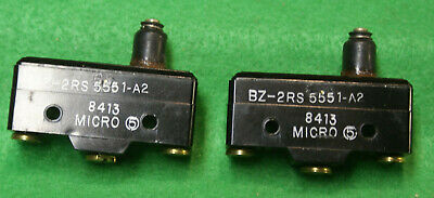 Honeywell Micro Limit Plunger Switch Bz-2rs 5551-a2 Jt