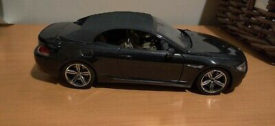 KYOSHO 1/18 SCALE BMW  M6 CONVERTIBLE - BMW DEALER EDITION - USED