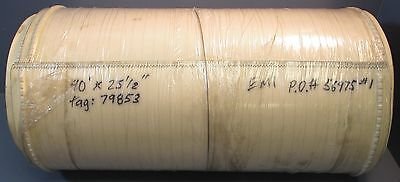 White Pvc Conveyor Belt 40 Length 25-12 Width With Rubber Cleating Nwob