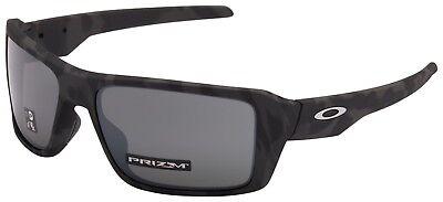 Oakley Double Edge Sunglasses OO9380-2066 Black Camo | Prizm Black Lens | (Oakley Double Lens Sunglasses)