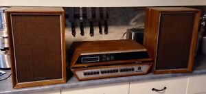 Mid Century Modern 1970's Vintage Very Cool Stereo