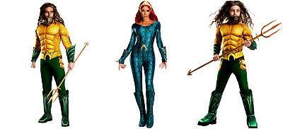 Aquaman Mera Cosplay Costume Deluxe Fasching Karneval  - Kostüme Trident