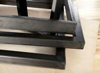 Steel legs, table legs, custom sizes. Quick turn-a-round