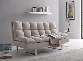 Ohio Sofa Bed - Natural Colour - 3 Seater - From Dreams - Only 8 Months old