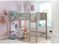 Childs Dreams Hutchin white Midsleeper Bed