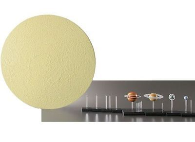Scale Solar System Science Astronomy Models