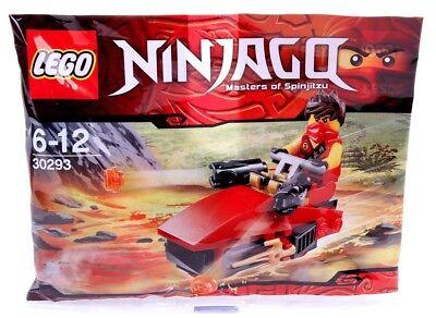 LEGO 30293 NINJAGO KAI DRIFTER & MINIFIGURE New/Sealed