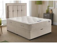 Brand new Super King bed and mattress