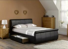 Faux leather bed in Feltham