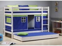 Dreams White Bunk Beds