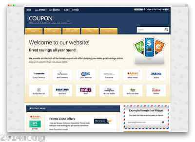 Coupons Sharing Profitable Complete Website For Sale - Auto Pilot