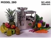 NORWALK 280 - Hydraulic Cold Press Juicer (Gerson Therapy) with upgrades