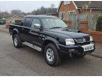 55 reg Mitsubishi L200 2.5TD Warrior, Leather, Hardtop Available, P/X, Finance,Credit cards Welcome