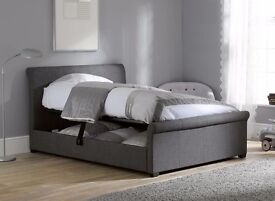Ottoman double bedframe from dreams