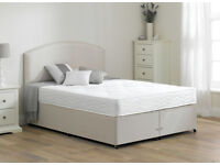 Double Bed Base a choice of mattress