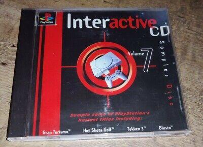PLAYSTATION 1 PS1 INTERACTIVE CD SAMPLER DISC VOLUME 7
