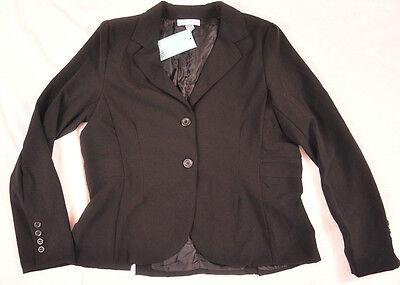 Womens Hillard & Hanson Coat Size 12 Black