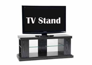Budget MDF TV Stand Cabinet corner entertainment Unit Dim: 1100 w x 420d x 447h