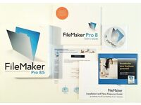 Filemaker Pro 8.5 for Windows or Apple Mac - Complete with Licenses Keys BOXED