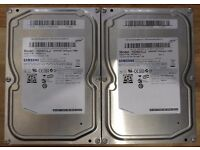 """A pair of Samsung SpinPoint T166 500GB Internal 7200RPM 3.5"""" (HD501LJ) HDD's"""