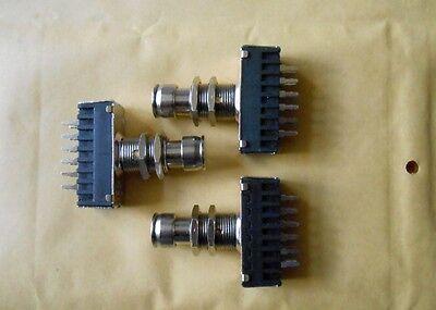 4x 4PDT STOMPBOXSWITCH Fuss-Schalter 4x um ST-Professional P-5000