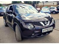 NISSAN JUKE 1.6 N-TEC 5d AUTO 115 BHP AUTOMATIC, CHOICE OF 3! (black) 2014