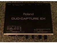 Boxed Roland Duo Capture EX Audio Interface