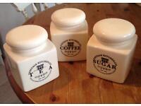 TEA/COFFEE/SUGAR SET