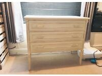 Cream shabby chic drawers