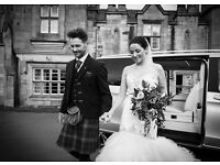 Free of charge wedding photography in Edinburgh, Lothians, Scottish Borders and Fife