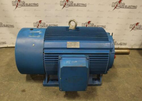 300 HP ICC Motor 1190 RPM 587/UZ Frame 460 Volt TEFC Y Start Delta Run