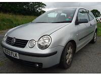 Spare or Repair Volkswagen Polo silver, 1.2E, 3rd