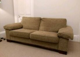 2 seater sofa with pull out double bed