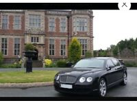 BENTLEY FLYING SPUR 58000 miles double black combo continental gt