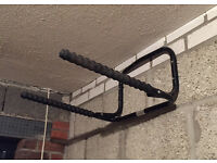 Wall-mounted bike racks - 2 available