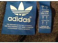 Mens Man U Adidas Tracksuit bottoms. Size L Immaculate!