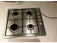 Cooke & Lewis Gas Stainless Steel Hob CLGH3SS-C