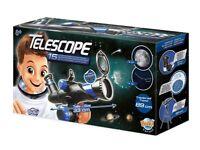 Starter telescope - BUKI TS006B - Telescope for 8 years+ RRP £50 new/boxed selling for £30