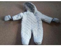 0-3 months snow suits