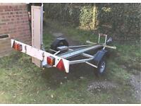 Motor cycle trailer