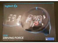 Logitech G29 Steering Wheel, Shifter & Pedals