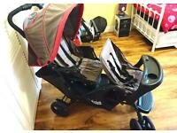 Bargain:Mothercare double pram