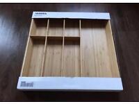 Cutlery sorter bamboo from IKEA