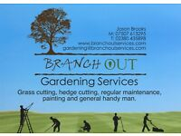 Branch Out Gardening Services - Gardener Southampton with 18 years Experience, Gardening Southampton