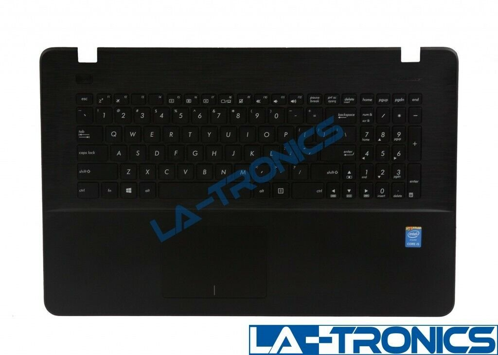 "Genuine ASUS X751L 17.6"" Palmrest Keyboard Touchpad 13NB04I1P04011-1"