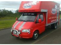 Smooth moves Edinburgh/Short notice removals 07944977997 Scottish