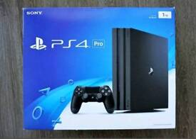 Playstation 4 Pro 1TB console (with 12 months warranty)
