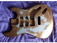Strat guitar body