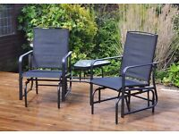 **FREE UK DELIVERY** Kingfisher Garden 2 Seater Rocker Seat- BRAND NEW!